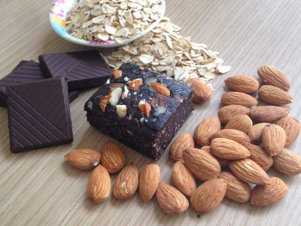 Iron Fit Food Dark Chocolate Natural Protein Brownie