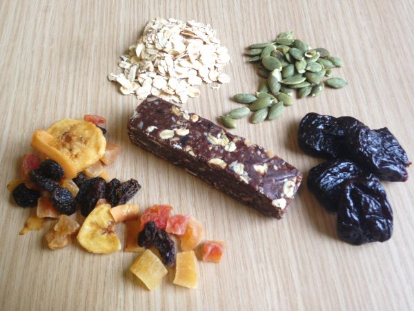 Energy Bar Iron Fit Food