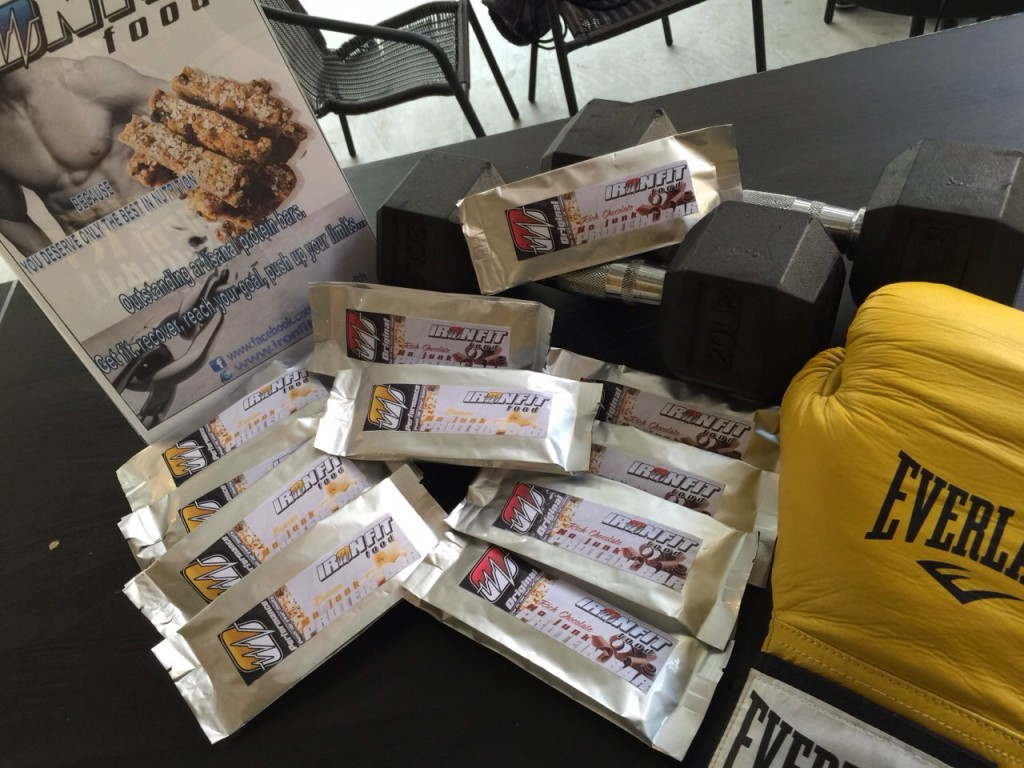 Iron Fit Food Made In Thailand Natural Protein Bars